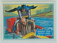 1966 Batman Blue Bat 25 Dragged From Death's Door Very Good to Excellent Logo