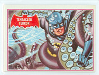 1966 Batman Red 8 Tentacled Terror Excellent to Mint