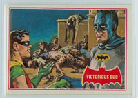 1966 Batman Red 28 Victorious Duo Excellent to Mint  [SKU:Y66_BATRED_028a_6exmsb]
