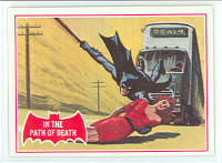 1966 Batman Red 38 In the Path of Death Near-Mint
