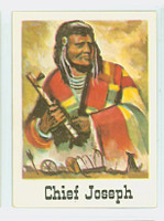 1966 Good - Bad Guys 47 Chief Jeseph Excellent to Mint