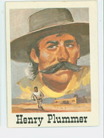1966 Good - Bad Guys 55 Henry Plummer Excellent to Mint