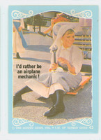 1968 Flying Nun 43 Airline Mechanic Near-Mint to Mint