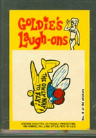1968 Laugh-In Inserts 2 The Only Way To Fly Excellent