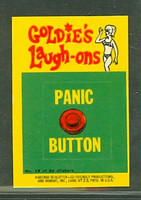 1968 Laugh-In Inserts 15 Panic Button Excellent