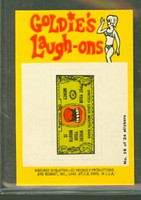 1968 Laugh-In Inserts 16 United Loud Mouth Bank Near-Mint