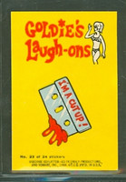 1968 Laugh-In Inserts 20 Knock Knock Excellent