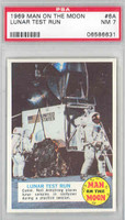 1969 Man on the Moon 6 Lunar Test Run PSA 7 Near Mint
