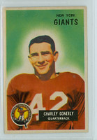 1955 Bowman Football 16 Charley Conerly New York Giants Excellent