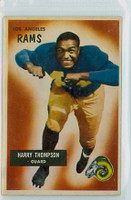 1955 Bowman Football 23 Harry Thompson Los Angeles Rams Excellent