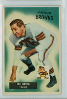 1955 Bowman Football 37 Lou Groza Cleveland Browns Excellent