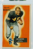 1955 Bowman Football 58 Bobby Watkins Chicago Bears Excellent