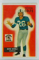 1955 Bowman Football 118 Royce Womble Baltimore Colts Excellent to Mint