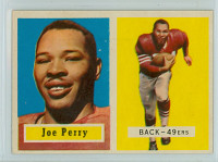 1957 Topps Football 129 Joe Perry High Number San Francisco 49ers Excellent to Mint