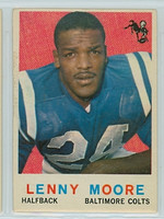 1959 Topps Football 100 Lenny Moore Baltimore Colts Very Good
