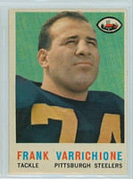 1959 Topps Football 119 Frank Varrichione Pittsburgh Steelers Excellent