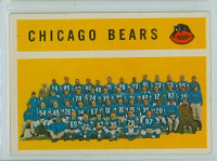 1960 Topps Football 21 Bears Team Excellent to Excellent Plus