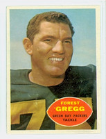 1960 Topps Football 56 Forrest Gregg ROOKIE Green Bay Packers Near-Mint