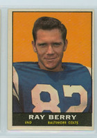 1961 Topps Football 4 Raymond Berry Baltimore Colts Excellent to Mint