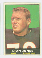 1961 Topps Football 14 Stan Jones Chicago Bears Very Good to Excellent