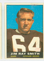 1961 Topps Football 73 Jim Ray Smith Cleveland Browns Very Good