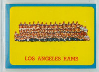 1963 Topps Football 48 Rams Team Excellent to Mint