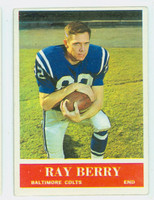 1964 Philadelphia 1 Raymond Berry Baltimore Colts Excellent