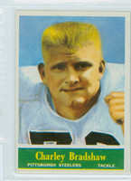 1964 Philadelphia 142 Charley Bradshaw Pittsburgh Steelers Excellent to Mint