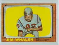 1966 Topps Football 14 Jim Whalen New England Patriots Excellent