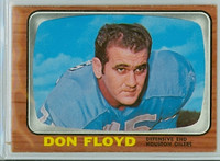 1966 Topps Football 54 Don Floyd Houston Oilers Excellent to Mint