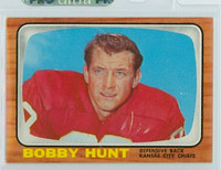 1966 Topps Football 71 Bobby Hunt Kansas City Chiefs Excellent to Mint