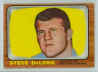1966 Topps Football 121 Steve DeLong San Diego Chargers Excellent