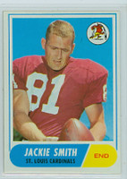 1968 Topps Football 86 Jackie Smith St. Louis Cardinals Excellent to Mint