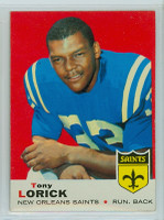1969 Topps Football 61 Tony Lorick New Orleans Saints Excellent to Mint