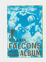 1969 Topps Football 4-1 Booklets 1 Atlanta Falcons Excellent to Mint