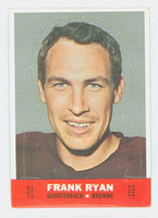 1968 Topps Football Stand Up 21 Frank Ryan Cleveland Browns Excellent