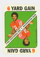 1971 Topps Football Game 21 Gene Washington San Francisco 49ers Excellent to Mint