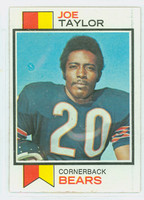 1973 Topps Football 37 Joe Taylor Chicago Bears Excellent