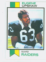 1973 Topps Football 50 Eugene Upshaw Oakland Raiders Excellent to Mint