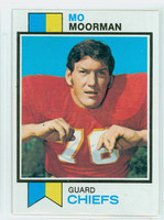 1973 Topps Football 84 Mo Moorman Kansas City Chiefs Excellent to Mint