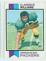1973 Topps Football 109 Clarence Williams Green Bay Packers Excellent