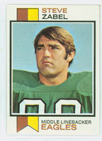 1973 Topps Football 317 Steve Zabel Philadelphia Eagles Near-Mint