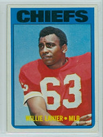 1972 Topps Football 35 Willie Lanier Kansas City Chiefs Excellent to Mint