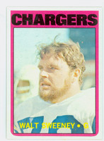 1972 Topps Football 63 Walt Sweeney San Diego Chargers Near-Mint