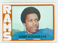1972 Topps Football 289 Kermit Alexander HIGH NUMBER San Francisco 49ers Near-Mint
