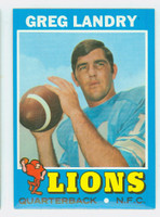 1971 Topps Football 11 Greg Landry ROOKIE Detroit Lions Near-Mint
