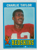 1971 Topps Football 26 Charley Taylor Washington Redskins Near-Mint
