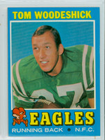1971 Topps Football 40 Tom Woodeshick Philadelphia Eagles Near-Mint