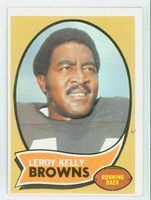 1970 Topps Football 20 Leroy Kelly Cleveland Browns Very Good to Excellent