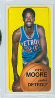 1970 Topps Basketball 9 Otto Moore Detroit Pistons Excellent